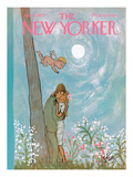 The New Yorker Cover - June 19, 1965 Regular Giclee Print by William Steig