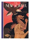 The New Yorker Cover - July 1, 1944 Premium Giclee Print by Rea Irvin