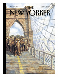 The New Yorker Cover - September 6, 2004 Premium Giclee Print by Peter de Sève