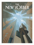 The New Yorker Cover - September 30, 1996 Regular Giclee Print by Eric Drooker