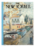 The New Yorker Cover - October 26, 1957 Premium Giclee Print by Garrett Price