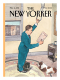 The New Yorker Cover - March 16, 1998 Regular Giclee Print by Barry Blitt