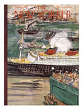 The New Yorker Cover - June 9, 1951 Regular Giclee Print by Ludwig Bemelmans