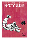 The New Yorker Cover - March 23, 1935 Premium Giclee Print by Peter Arno