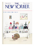 The New Yorker Cover - November 29, 1976 Regular Giclee Print by Saul Steinberg
