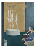 The New Yorker Cover - January 15, 1955 Regular Giclee Print by Charles E. Martin