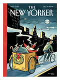 The New Yorker Cover - December 15, 2008 Regular Giclee Print by Marcellus Hall