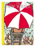 The New Yorker Cover - September 5, 1953 Regular Giclee Print by Abe Birnbaum