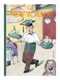 The New Yorker Cover - June 1, 1998 Regular Giclee Print by Barry Blitt