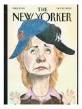 The New Yorker Cover - October 30, 2000 Regular Giclee Print by Barry Blitt