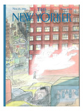 The New Yorker Cover - November 25, 1996 Regular Giclee Print by Jean-Jacques Sempé