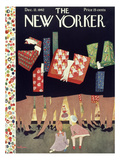The New Yorker Cover - December 12, 1942 Premium Giclee Print by Christina Malman
