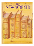 The New Yorker Cover - March 15, 1982 Regular Giclee Print by Eugène Mihaesco