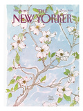 The New Yorker Cover - May 16, 1983 Premium Giclee Print by Joseph Farris