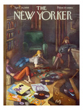 The New Yorker Cover - April 26, 1958 Premium Giclee Print by Arthur Getz