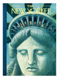 The New Yorker Cover - July 3, 1954 Regular Giclee Print by Charles E. Martin