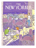 The New Yorker Cover - August 3, 1992 Premium Giclee Print by Devera Ehrenberg