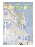 The New Yorker Cover - August 5, 1967 Regular Giclee Print by James Stevenson