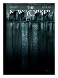 Reflections - The New Yorker Cover, September 12, 2011 Premium Giclee Print by Ana Juan