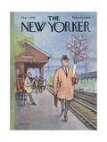 The New Yorker Cover - May 1, 1965 Regular Giclee Print by Charles Saxon