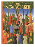 The New Yorker Cover - August 14, 1989 Regular Giclee Print by Bob Knox