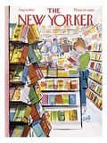 The New Yorker Cover - August 11, 1962 Premium Giclee Print by Arthur Getz