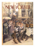 The New Yorker Cover - September 25, 2000 Premium Giclee Print by Edward Sorel