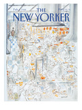 The New Yorker Cover - February 1, 1988 Premium Giclee Print by Jean-Jacques Semp&#233;