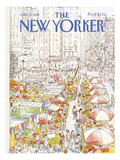 The New Yorker Cover - July 27, 1981 Regular Giclee Print by Arthur Getz