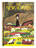 The New Yorker Cover - February 6, 1965 Regular Giclee Print by Andre Francois