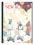 The New Yorker Cover - December 17, 2001 Premium Giclee Print by Barry Blitt
