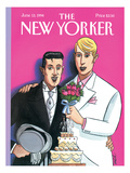 The New Yorker Cover - June 13, 1994 Premium Giclee Print by Jacques de Loustal
