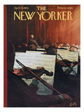 The New Yorker Cover - April 28, 1962 Regular Giclee Print by Arthur Getz