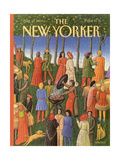 The New Yorker Cover - August 14, 1989 Premium Giclee Print by Bob Knox