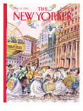The New Yorker Cover - December 13, 1993 Regular Giclee Print by Edward Sorel