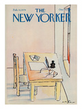 The New Yorker Cover - February 12, 1979 Premium Giclee Print by Andre Francois