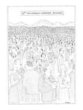 """10th Anniversary Woodstock Reunion' - New Yorker Cartoon Premium Giclee Print by Robert Mankoff"