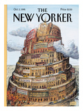 The New Yorker Cover - October 2, 1995 Regular Giclee Print by Edward Sorel