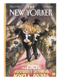 The New Yorker Cover - May 22, 1995 Regular Giclee Print by Edward Sorel