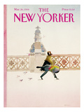 The New Yorker Cover - March 26, 1984 Regular Giclee Print by Susan Davis