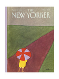 The New Yorker Cover - April 19, 1982 Regular Giclee Print by Heidi Goennel