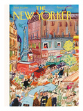 The New Yorker Cover - June 24, 1950 Premium Giclee Print by Ludwig Bemelmans