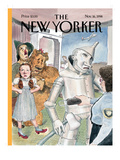 The New Yorker Cover - November 16, 1998 Regular Giclee Print by Barry Blitt