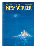 The New Yorker Cover - December 3, 1973 Premium Giclee Print by Robert Weber