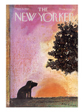 The New Yorker Cover - September 18, 1965 Regular Giclee Print by Andre Francois