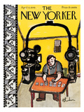 The New Yorker Cover - April 13, 1946 Premium Giclee Print by Abe Birnbaum
