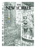 The New Yorker Cover - June 11, 2001 Premium Giclee Print by Peter de Sève