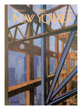 The New Yorker Cover - July 9, 1973 Regular Giclee Print by Charles Saxon