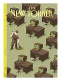 The New Yorker Cover - October 25, 2004 Regular Giclee Print by Christoph Niemann