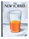 The New Yorker Cover - January 30, 1995 Premium Giclee Print by Bob Zoell (HA)